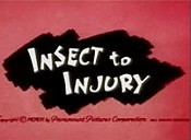 Insect To Injury Cartoon Character Picture