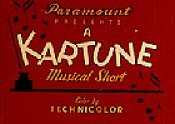 Kartune Theatrical Cartoon Series Logo