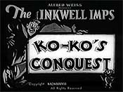 Ko-ko's Conquest Cartoon Funny Pictures