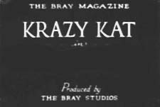 Krazy Kat Theatrical Cartoon Series Logo