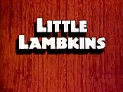 Little Lambkins Picture To Cartoon