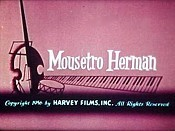 Mousetro Herman Cartoon Picture