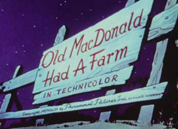 Old MacDonald Had A Farm Picture Of The Cartoon