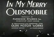 In My Merry Oldsmobile Cartoon Picture