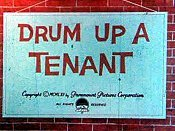 Drum Up A Tenant Cartoon Picture