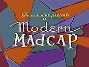 Modern Madcaps Theatrical Cartoon Series Logo