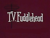 T.V. Fuddlehead Cartoon Character Picture