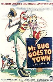 Mr. Bug Goes To Town Picture To Cartoon