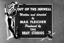 Out Of The Inkwell Theatrical Cartoon Logo
