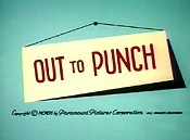 Out To Punch Free Cartoon Picture