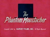 The Phantom Moustacher Cartoon Picture