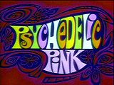Psychedelic Pink Picture Into Cartoon