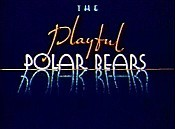 The Playful Polar Bears Cartoon Picture