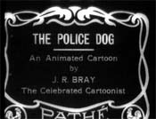 Police Dog Turns Nurse Cartoon Picture