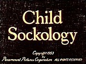 Child Sockology Cartoon Picture