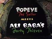 Popeye The Sailor Meets Ali Baba's Forty Thieves The Cartoon Pictures