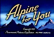 Alpine For You Cartoon Character Picture
