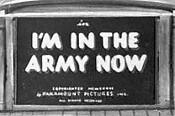 I'm In The Army Now Cartoon Picture