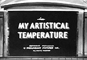 My Artistical Temperature Picture Of The Cartoon