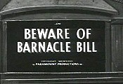 Beware Of Barnacle Bill Cartoon Picture
