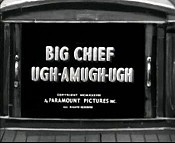 Big Chief Ugh-Amugh-Ugh Picture Of The Cartoon