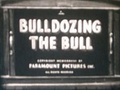 Bulldozing The Bull Cartoon Funny Pictures