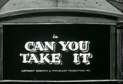 Can You Take It Video