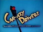 Car-azy Drivers Cartoon Picture