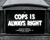 Cops Is Always Right Cartoon Picture