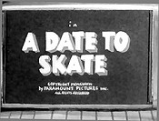 A Date To Skate Cartoon Picture