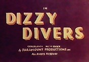 Dizzy Divers Picture To Cartoon