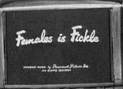 Females Is Fickle Unknown Tag: 'pic_title'