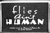 Flies Ain't Human Cartoon Picture