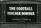 The Football Toucher Downer Cartoon Picture