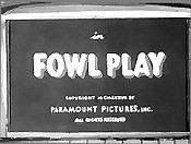 Fowl Play Cartoon Picture