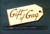 Gift Of Gag Cartoon Picture