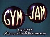 Gym Jam Cartoon Picture