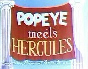 Popeye Meets Hercules Picture Of The Cartoon