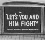 Let's You And Him Fight Cartoon Picture
