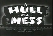 A Hull Of A Mess Cartoon Picture