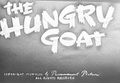 The Hungry Goat Free Cartoon Pictures