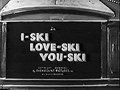 I-Ski Love-Ski You-Ski Cartoon Picture