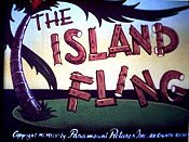 The Island Fling Cartoons Picture