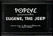 Popeye Presents Eugene, The Jeep Cartoon Picture