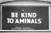Be Kind To 'Aminals' Cartoon Picture
