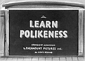 Learn Polikeness Cartoon Picture