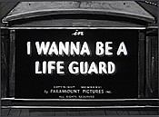 I Wanna Be A Life Guard