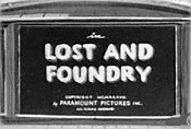 Lost And Foundry The Cartoon Pictures