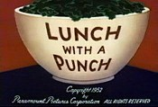Lunch with A Punch Cartoon Picture