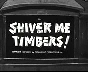 Shiver Me Timbers! Pictures Of Cartoons
